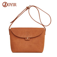 Joyir fashion crossbody bag for women casual soft cover women messenger bags solid shoulder bags ladies high quality 8626