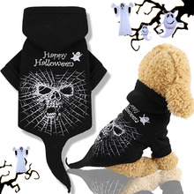 New Pet Dog Clothes Small Dogs Cotton Puppy Coat Jacket Hoodies Funny Terror Halloween Costumes Chihuahua Gift