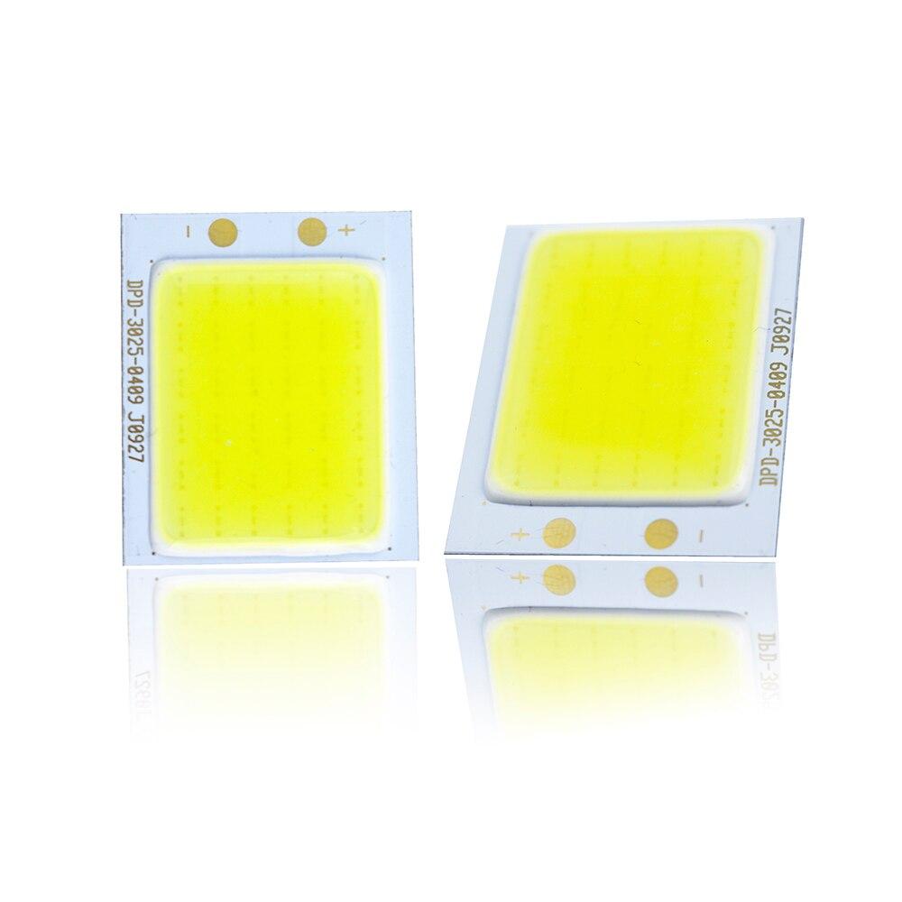 2 шт. УДАРА светодиодный источник 2 Вт DC12V свет 25*30 мм флип-чип полосы белого Цвет для бара светодиодный матрица лампа Главная Автомобиль свет ...