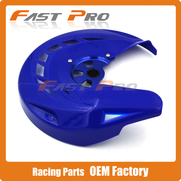 X-Brake Front Brake Disc Rotor Guard Cover Protector Protection For YZ125 250 YZF WRF YZF250 YZF450 WRF250 WRF450 front wave disc brake yz yzf wrf yz250 yzf250 yzf450 wrf250 wrf450 motocross enduro supermotard motocross motorcycle