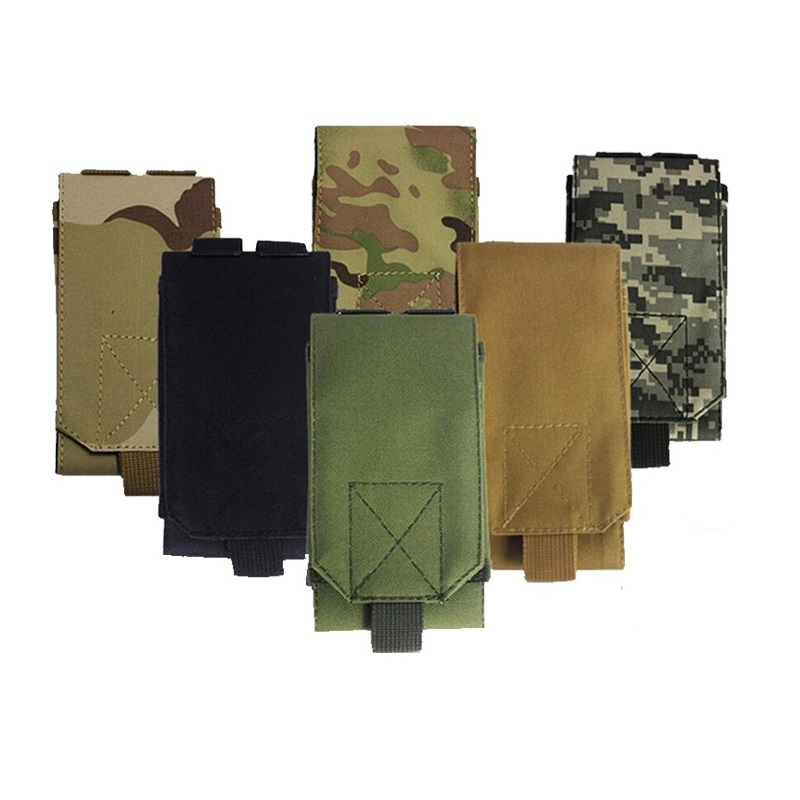 Outdoor Camouflage Bag Tactical Army Phone Holder Sport Waist Belt Case Waterproof Nylon EDC Sport Hunting Camo Bags in Backpack 1