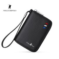 Men Credit Card Holder Genuine Leather Card Case maleSmall Zipper Coin Pocket Pouch 2018 New Design Man Gift PL185127
