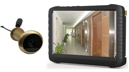 5.8G Wireless Door Peephole Camera with DVR100m Range 90 Degree VOA ;5 inch ScreenMotion Detect RecordingXR TE850H-in Surveillance System from Security ...  sc 1 st  AliExpress.com & 5.8G Wireless Door Peephole Camera with DVR100m Range 90 Degree ...