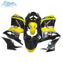 Injection molding for Kawasaki Ninja 250r yellow black Fairings parts 2008-2014 EX250 2009 2010 2011 2012 ZX 250 fairing kits