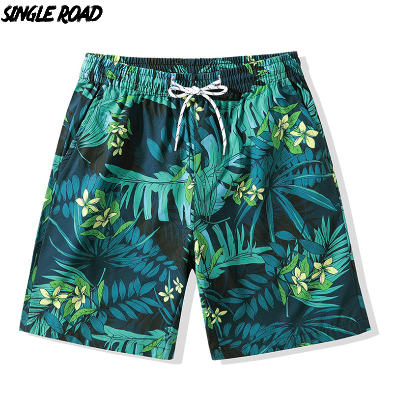 Big Hit Mens Summer Board Shorts Quick Dry Elastic Waist Swim Trunks