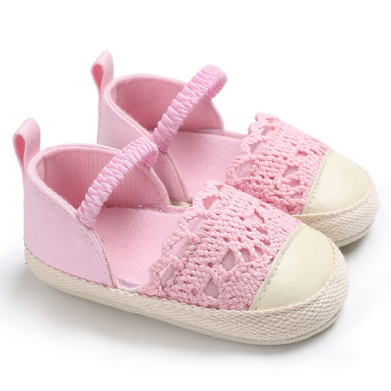Shoes Nonslip First-Walkers Newborn Baby-Girls Fashion Summer Flax Hot-Sale Hollow