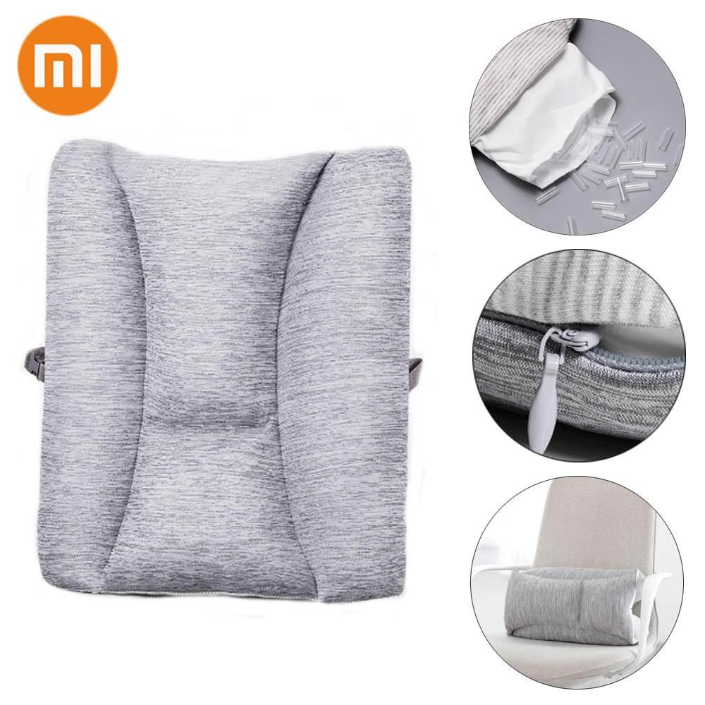 Xiaomi 8H Lumbar Cushion Soft Memory Foam Protect Lumbar For Office Camping Car Rest Relax Health