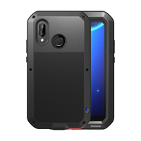 Metal Shockproof Armor Case For Huawei Mate 20 Lite P20 Lite 9 Full Body Protective Cover Case Huawei Mate 20 Lite Case Mate10 9
