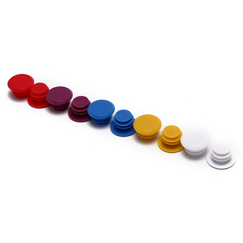1 Pair Colorful Cycle Road MTB Bike Handle Bar End Lock-On Plugs Plastic PE Handle Bar Grips Caps Covers <font><b>Bicycle</b></font> <font><b>Parts</b></font> image