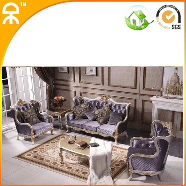 1+2+3 Seat /lot Upholstered Lobby Sofa Furniture Set For Hotel Lobby