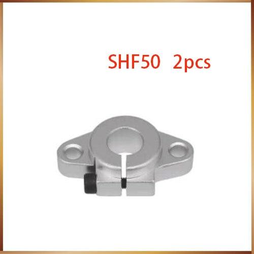 все цены на SHF50 50mm Linear Rod Rail Shaft Support CNC Route New онлайн