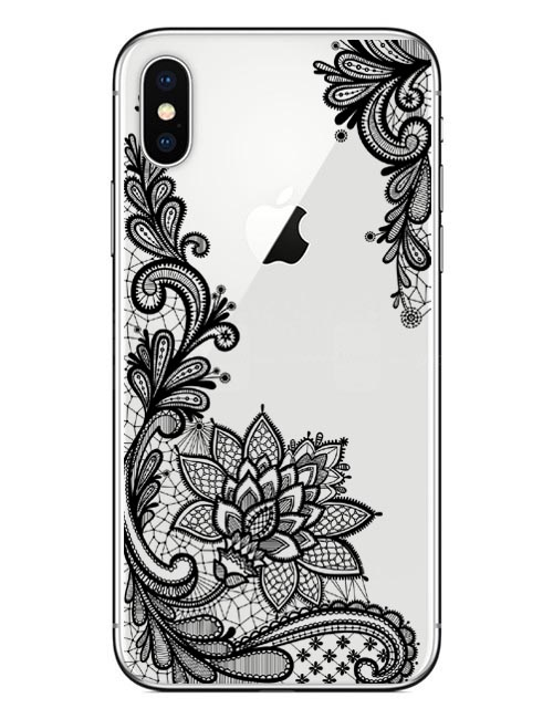 best service a0c70 f5ba2 US $2.03 40% OFF|Sexy lace sports girl bee flowers Banana Soft Silicone TPU  Phone Case Cover For iPhone X 10 5 5S SE 6 6SPlus 7 7Plus 8 8 Plus-in ...