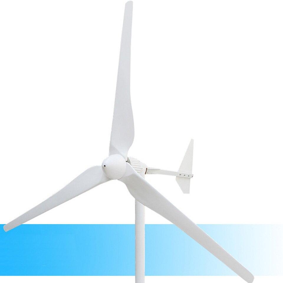 Générateur de vent à 3 pales Vertical 48 V/96 V AC sortie 2KW 2000 W générateur de vent à 3 phases énergie libre démarrage à faible vitesse du vent