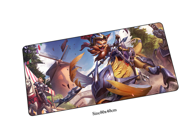 80x40cm sir kled mouse pad lol mousepads best gaming mouse pad gamer