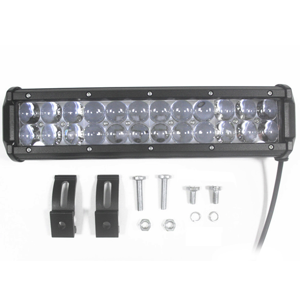 ICOCO 120W 12 LED Light Bar Offroad for PHILIPS 4D Led Work Light Bar Spot Beam Driving Lamp for 12v 24v Truck SUV ATV 4x4 2pcs 36w 7 led light bar spot beam offroad driving light 12v 24v 4x4 truck for atv spotlight fog lamp