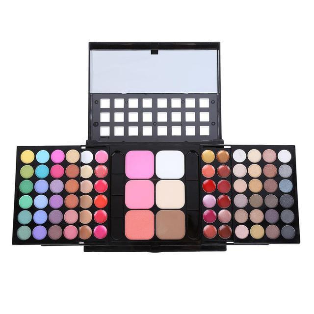 78 Colors Cosmetics Makeup Tool Waterproof Long Lasting Eye Shadow Palette12