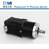 Gear stepper motor nema 17 stepper motor L=48mm planetary reduction gearbox ratio 50:1 cnc robot pump