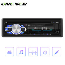 Onever 1 Din Auto Audio Stereo 60WX4 Bluetooth Auto Radio FM Transmitter Aux Eingang Empfänger USB MP3 Musik Player 12 V