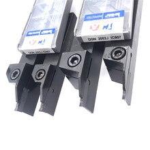 10PCS DGN 3003J / 2002J 2mm 3mm grooving carbide insert + 1PC DCTR2020-2T18 DCTR1616-2T18 Turning holder