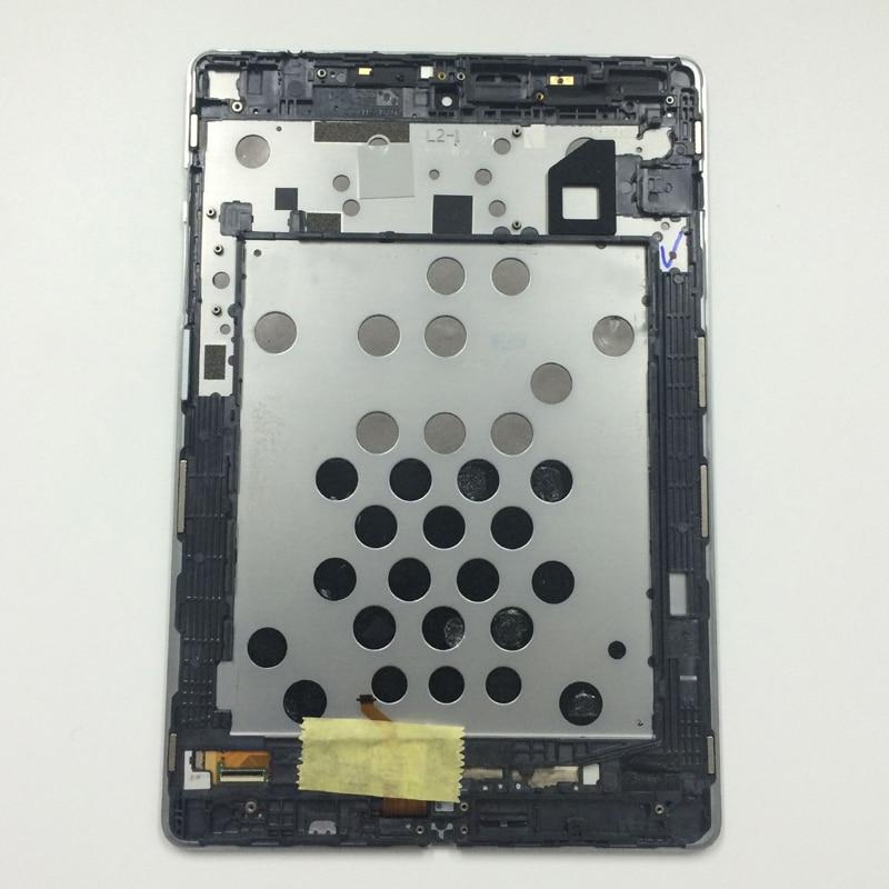 Écran noir Plein Écran LCD Monitor Panneau Écran + Tactile Digitizer Capteur Panneau Assemblée Verre avec Cadre Pour Google Nexus 9