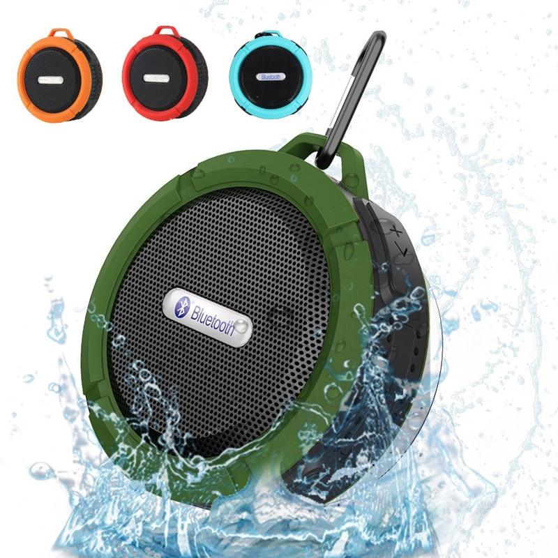 Erfinderisch Wasserdicht Bluetooth Lautsprecher Outdoor Dusche C6 Mit Starken Fahrer Drahtlose Auto Subwoofer Lautsprecher Sound Box Saugnapf Auf Der Ganzen Welt Verteilt Werden Lautsprecher Unterhaltungselektronik