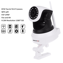 home camera security system Wifi High Quality HD Wireless IP Camera 720P Night Vision P2P 2.4ONVIFI Indoor IP C7824WIP