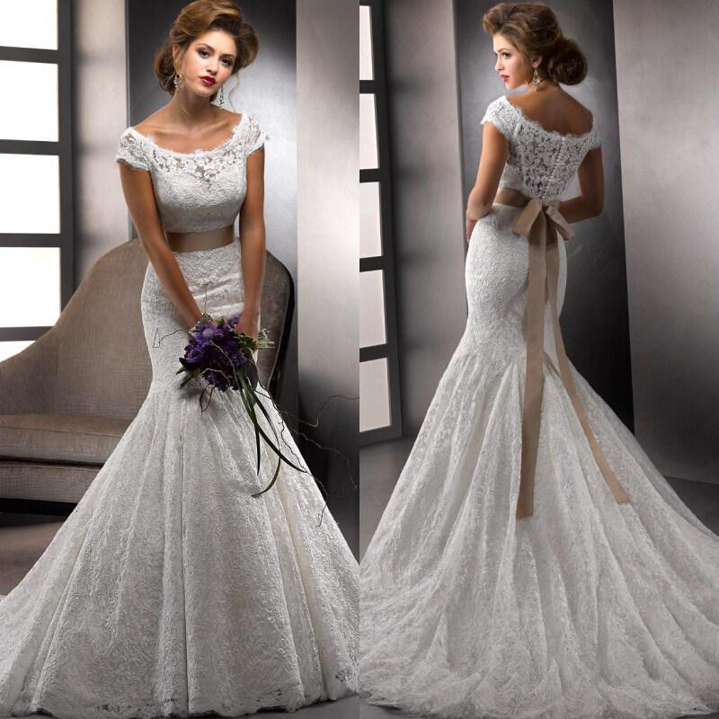 2016 vestido novias vintage ivory lace alibaba wedding dresses