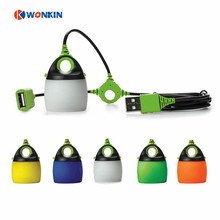 USB Powered LED Portable lantern tent light Camping light Waterproof Mini Outdoor Lamp chainable USB light
