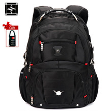 Suissewin Unisex Professional Slim Business Laptop Backpack Fashion Casual Durable Travel Rucksack Daypack Waterproof  Bags 2017