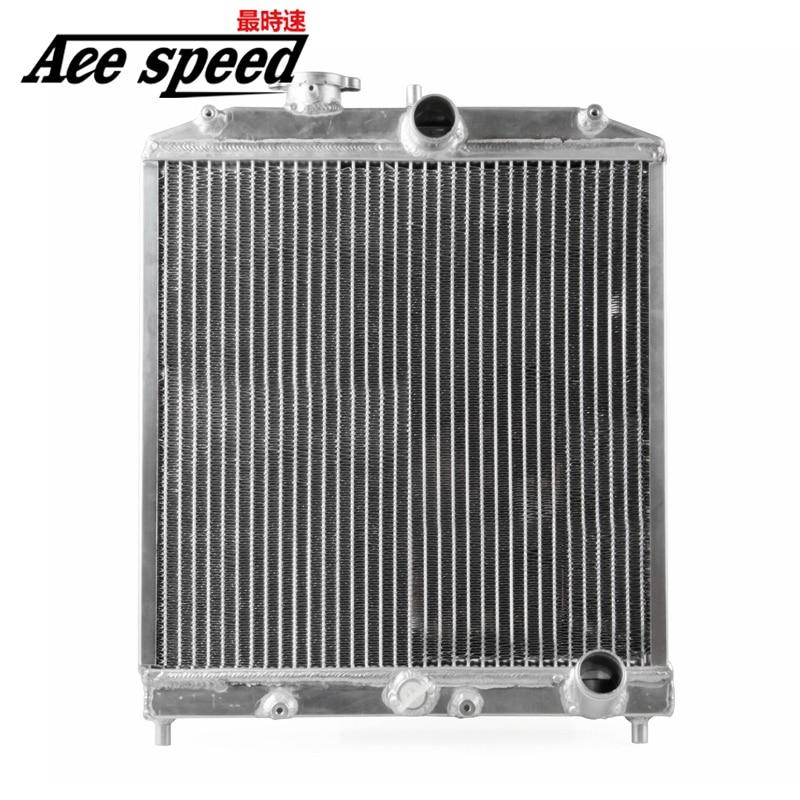 Aluminum Car Auto Radiator 2 Row 42MM For Honda Civic Del Sol 92-00 MT EG / EK