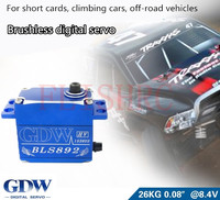 GDW892 model car brushless digital Servo 26KG high speed and large torque For climbing car / short card / off road vehicle