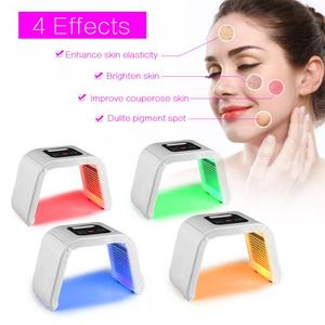 Image 2 - Professional Photon PDT Led Light Facial Mask Machine 4 Colors Acne Treatment Face Whitening Skin Rejuvenation Light Therapy