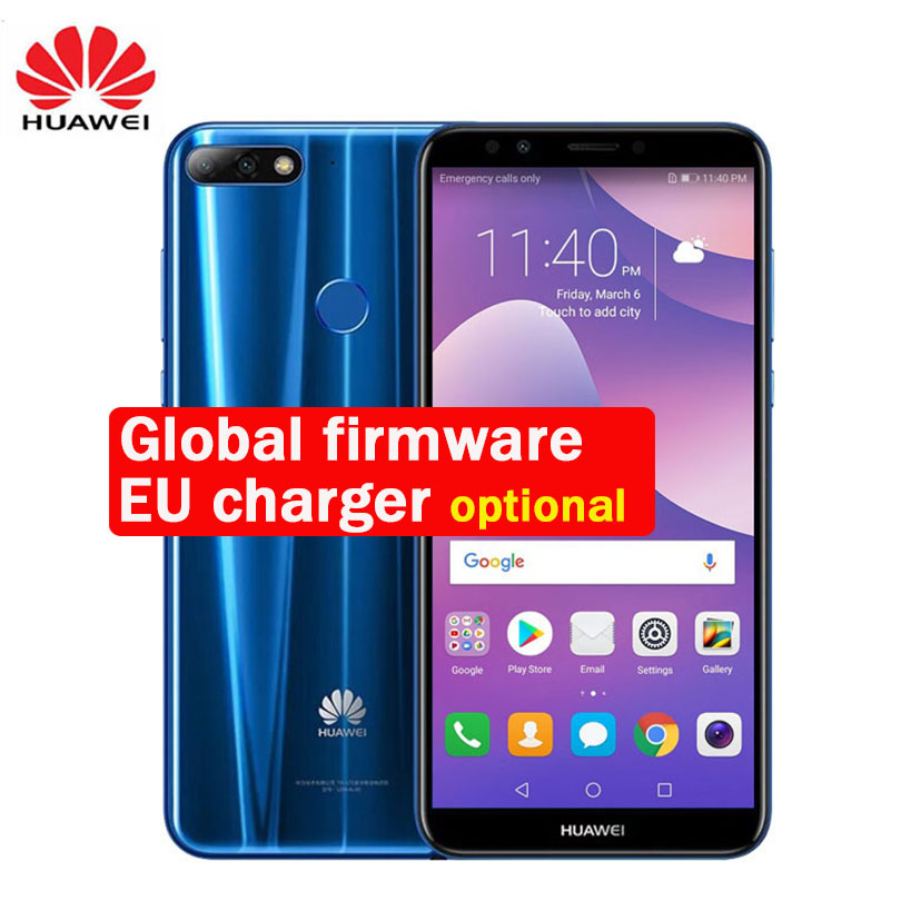 Global ROM huawei наслаждаться 8 NOVA 2 LITE Y7 Prime 2018 3 ГБ 32 ГБ Octa Core 5,99 дюймов 1440*720 P двойной сзади отпечаток пальца камеры ID FM