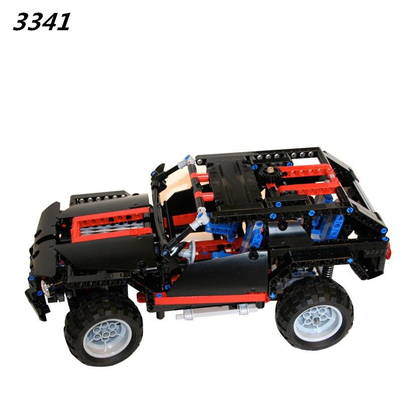 AIBOULLY 3341 Transport Cruiser SUV 589pcs Racing Car Model Building Block Sets Educational DIY Bricks Toys Gift 8681 GIFT цена и фото