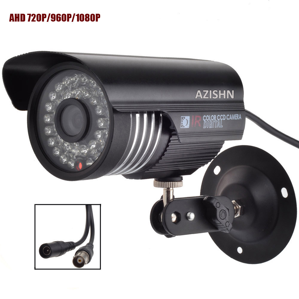 CCTV AHD camera 1.0MP/1.3MP/2.0MP 720P/960P/1080P metal Waterproof IP66 Outdoor  Security Surveillance Camera IR Cut wistino cctv camera metal housing outdoor use waterproof bullet casing for ip camera hot sale white color cover case