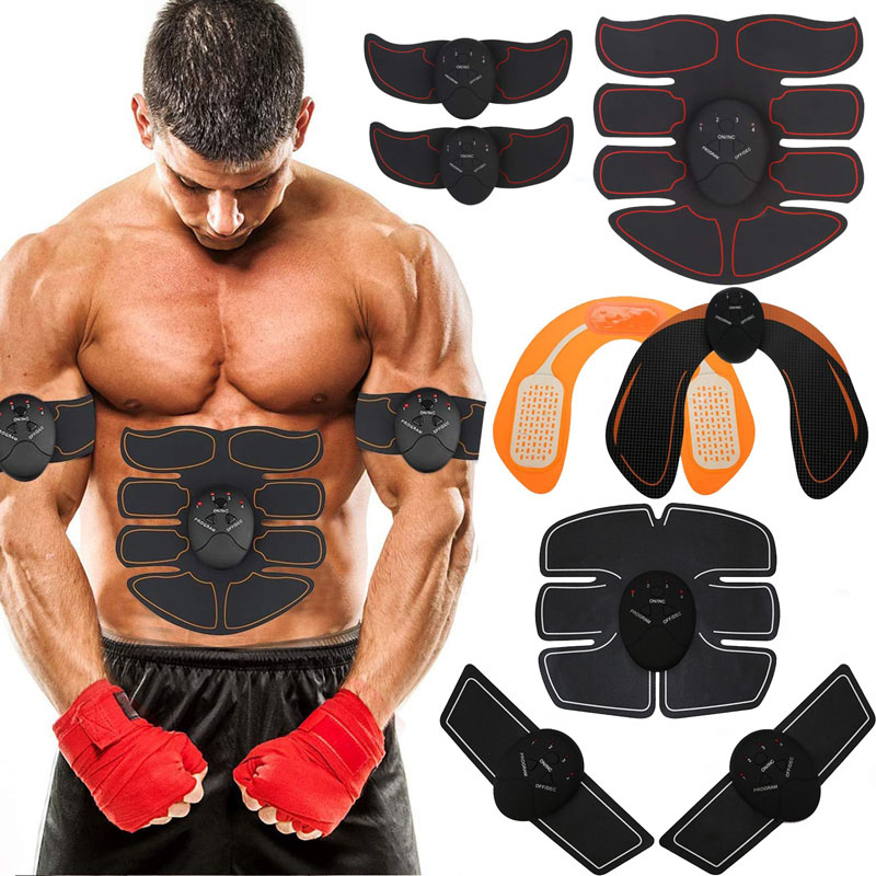 Unisex Wireless EMS Abdominal Muscle Toning Belt Stimulator