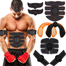 2019 EMS Wireless Muscle Stimulator Abdominal Toning Belt Muscle Toner Body Muscle Fitness Trainer For Abdomen Arm Leg Unisex(China)