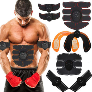 2020 EMS Wireless Muscle Stimulator Abdominal Toning Belt Muscle Toner Body Muscle Fitness Trainer For Abdomen Arm Leg Unisex(China)