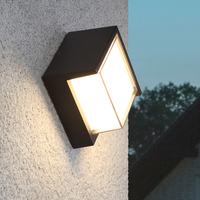 LED Outdoor Wall Light Waterproof Balcony Exterior Wall Light Hotel Stair Corridor led Wall Lamp Nordic Modern Outdoor Sconce