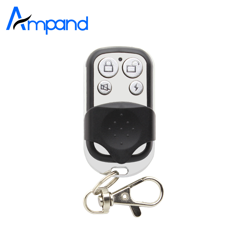 Wireless Portable Remote Control keyfobs For GSM Home Burglar Alarm System 1pcs