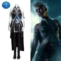 MANLUYUNXIAO Апокалипсис шторм костюм Для женщин полный комплект костюмы на Хэллоуин для Для женщин Ororo Манро Storm X men Косплэй костюм