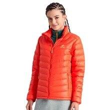 Women Snowboarding Jackets Ultra-light White Duck Down Warm Waterproof Jacket Ski Ice Sports Traveling Camping Hiking Down Coat