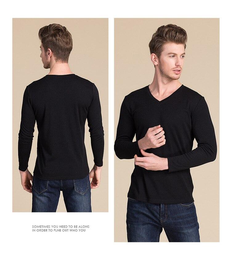 gray Beige Moyen L Xxl Soie Sous vêtements Coton Taille Top Chauds Manches Mélange De black Thermique Xl Longues Épais Hommes q1CqzHwT