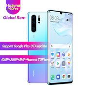 Global ROM HUAWEI P30 Pro 8GB 512GB Full Screen Mobile Phone NFC Smartphone Octa Core Android Bar FHD+ Kirin 980 5 Cameras