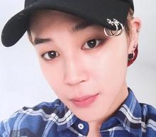 New Hiphop Kpop bangtan boys bts jimin same style Unisex cramp ring baseball cap