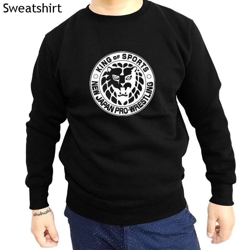 NEW JAPAN PRO WRESTLING Japanese Martial Arts Men/'s Black T-Shirt