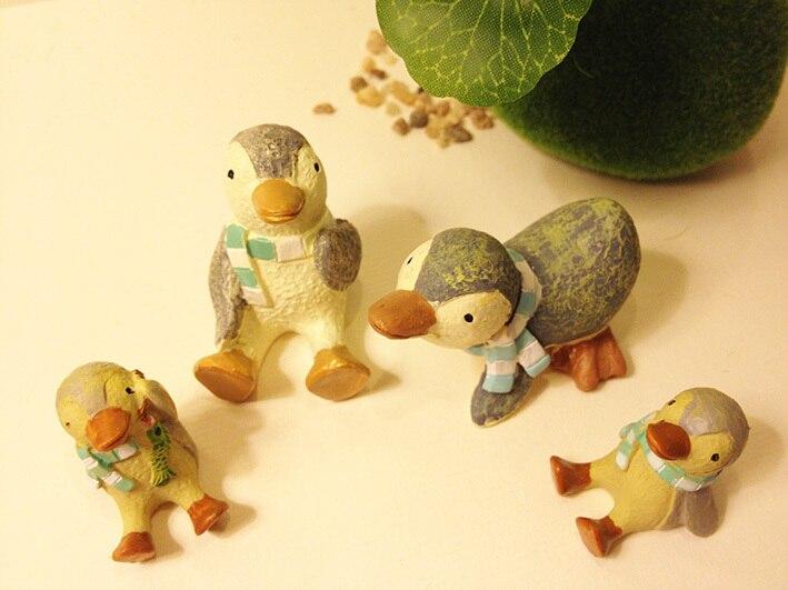 ᐂ1 шт./миниатюрные семья пингвинов/Сказочный Садовый Гном ...