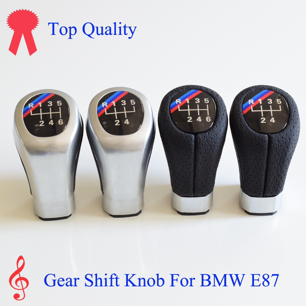 Interior Parts Gear Shift Knob Strict 5/6 Speed Gear Shift Stick Lever Knob Handle Ball For Bmw 1 Series E81 E82 E87 E88 25118037305 8037305 25118036625 8036625