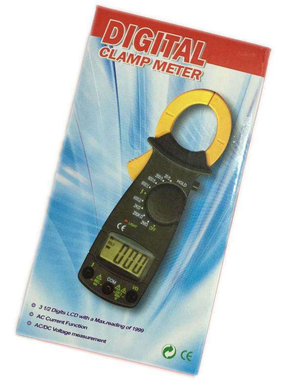 Mini DT3266F Digitale Strommesszange Digitales Amperemeter Mit Summer Für Wechselstrom Funktion AC/DC Spannungsmessung Max Lesen