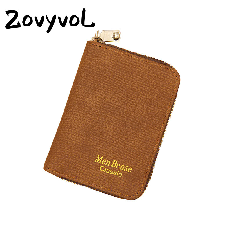 ZOVYVOL Mini Wallet Coin Purse New Case Women Men Credit Card Holder Small for Cards Ladies Money